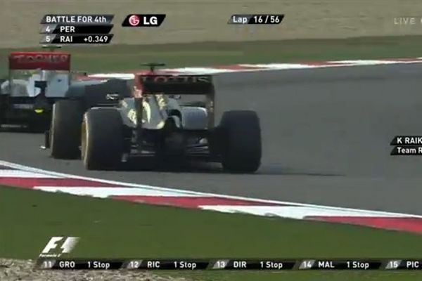 Formula 1: Έξαλλος με Πέρες ο Iceman (video)