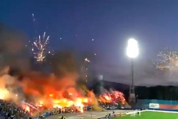 Βουλγαρία: Εντυπωσιακό σόου από τους οπαδούς της Λέφσκι (video)
