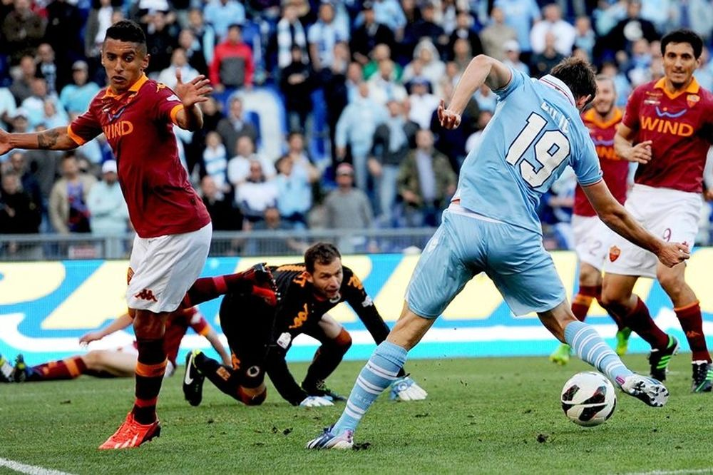 Κόπα Ιτάλια: Στα… γαλάζια η Ρώμη, 1-0 η Λάτσιο! (video)