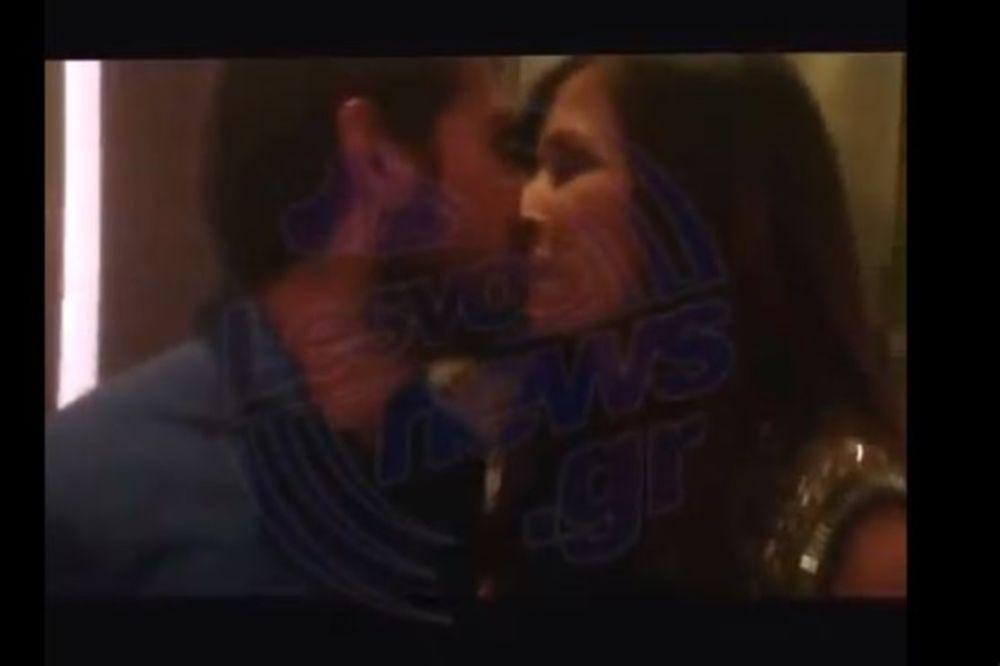 Το φιλί... ανόδου της Νεσχάν στον Σιδεράκη (video)