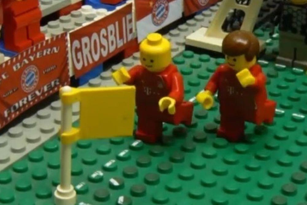 Μπάγερν Μονάχου: Η νίκη επί της Ντόρτμουντ σε lego (video)