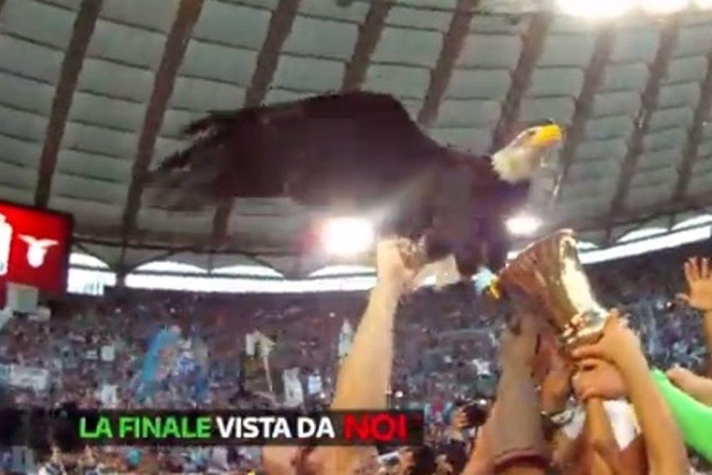 Λάτσιο: Η παρακάμερα των πανηγυρισμών για το Κύπελλο (video)