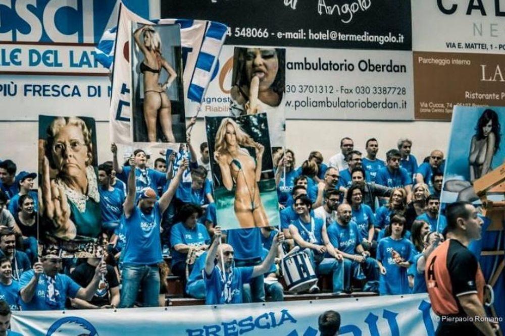 Ιταλία: Οπαδοί αποπροσανατόλισαν τους αντίπαλους παίκτες με πρόστυχες αφίσες