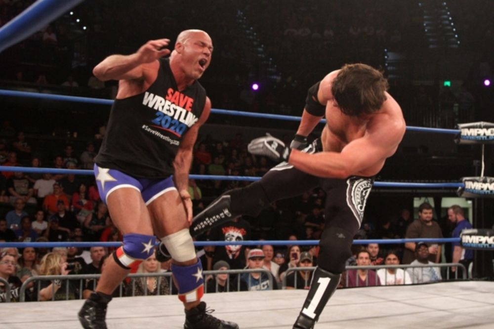TNA Impact Wrestling: Στη… μέση ο AJ Styles (videos+photos)