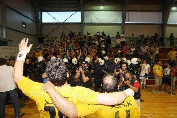Αρβανίτης: «Παραμυθένια χρονιά για την ΑΕΚ»