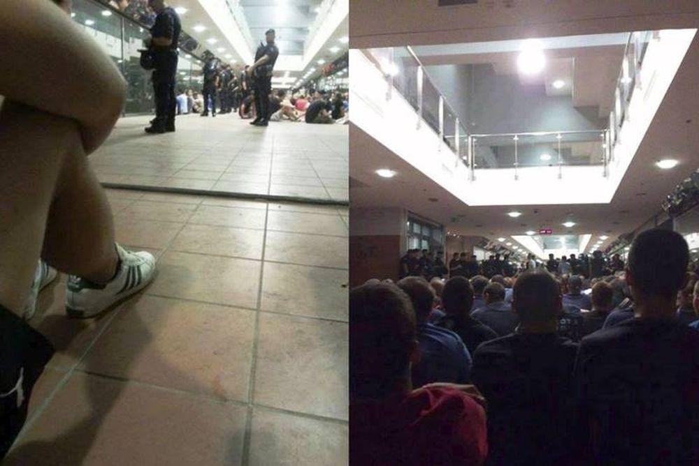 Ντιναμό Ζάγκρεμπ: «Όμηροι» 300 οπαδοί από αστυνομικούς (photos)