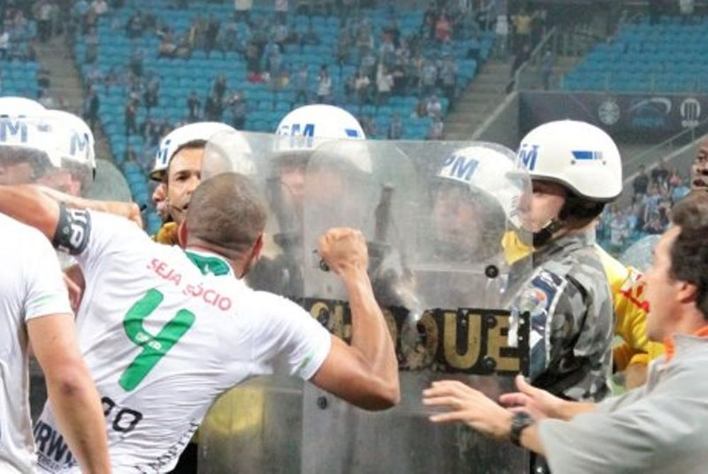 Βραζιλία: Ματ για τους συμπαίκτες του Ντιόγκο! (video)