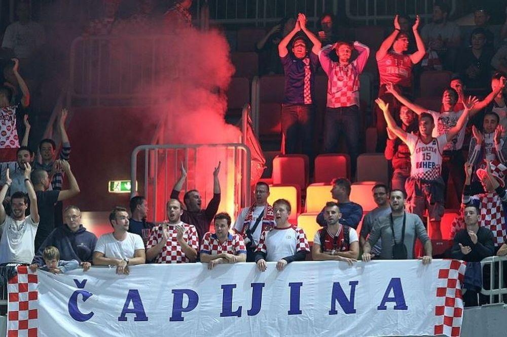 Ευρωμπάσκετ 2013: Φωτιά στη «Stozice Arena» (photos)