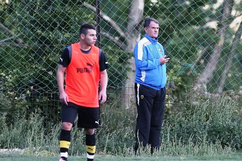 Μπάγεβιτς σε παίκτες: «Δεν θέλουμε μόνο την άνοδο»