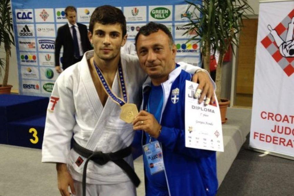 Τζούντο: Πρωταθλητής Ευρώπης ο Αζωίδης
