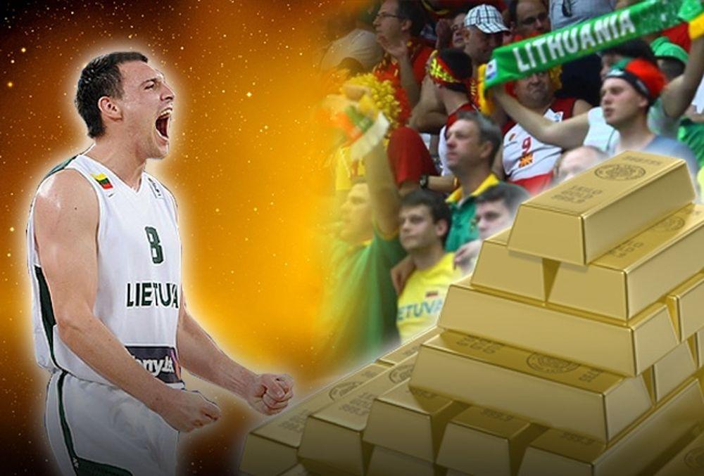 Λιθουανία: Γιόνας... Golden Boy! (photos+videos)
