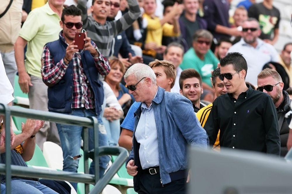 ΑΕΚ: Στο γήπεδο ο Μελισσανίδης (photos)
