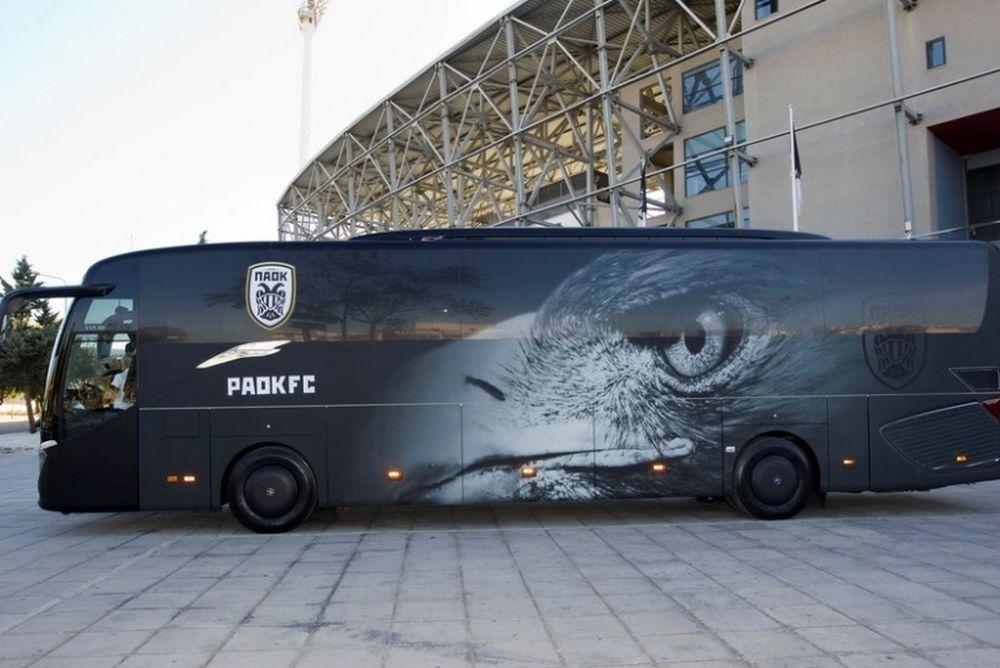 ΠΑΟΚ: «Φυσάει» το νέο λεωφορείο! (video)