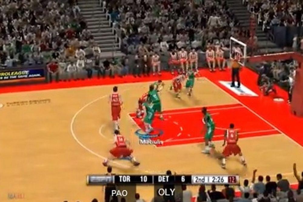 Τα ντέρμπι στο NBA2K14 (video)