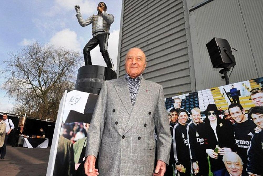 Φούλαμ: Αφαιρέθηκε το άγαλμα του Μάικλ Τζάκσον (photos)