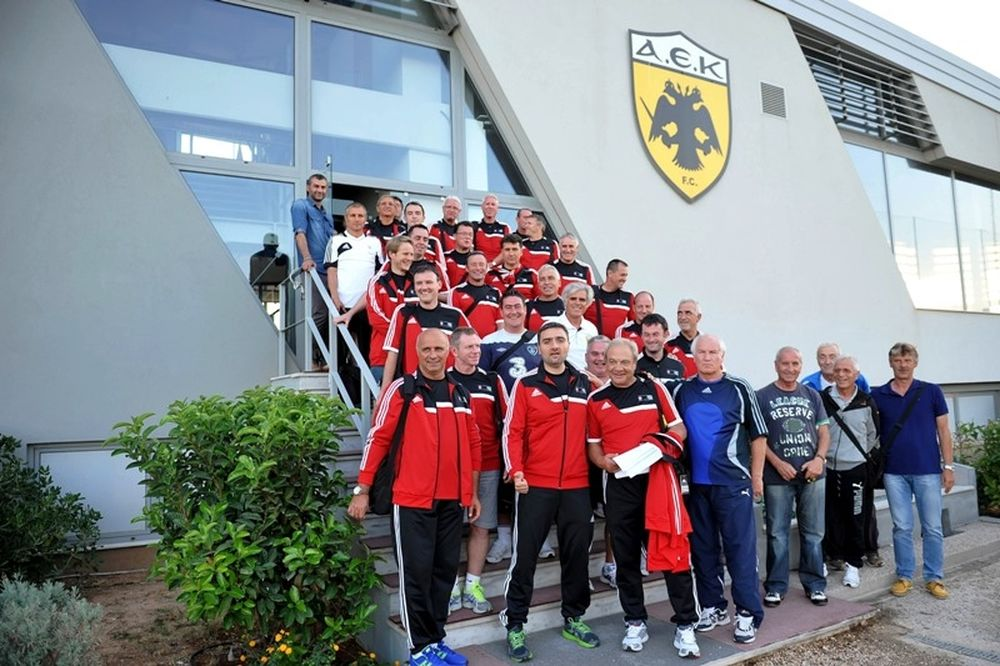 ΑΕΚ: Επίσκεψη προπονητών στα Σπάτα