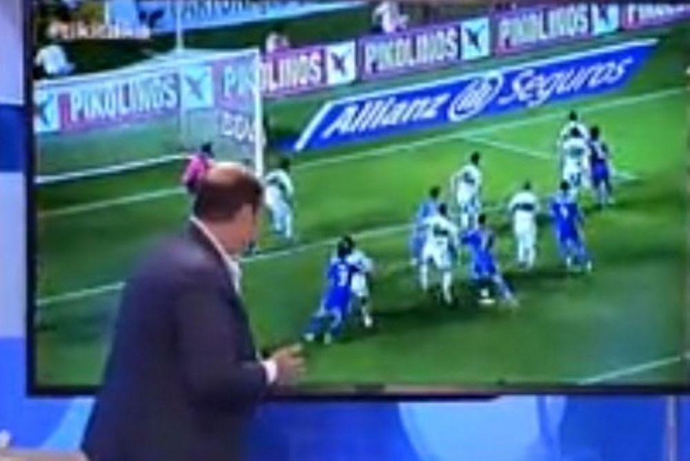 Ρεάλ Μαδρίτης: Δημοσιογράφος ωρύεται ότι ήταν πέναλτι του Πέπε! (video)