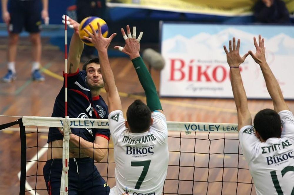 Volleyleague: Πιστοποιητικό σε Παναθηναϊκό, Παναχαϊκή και Νίκη