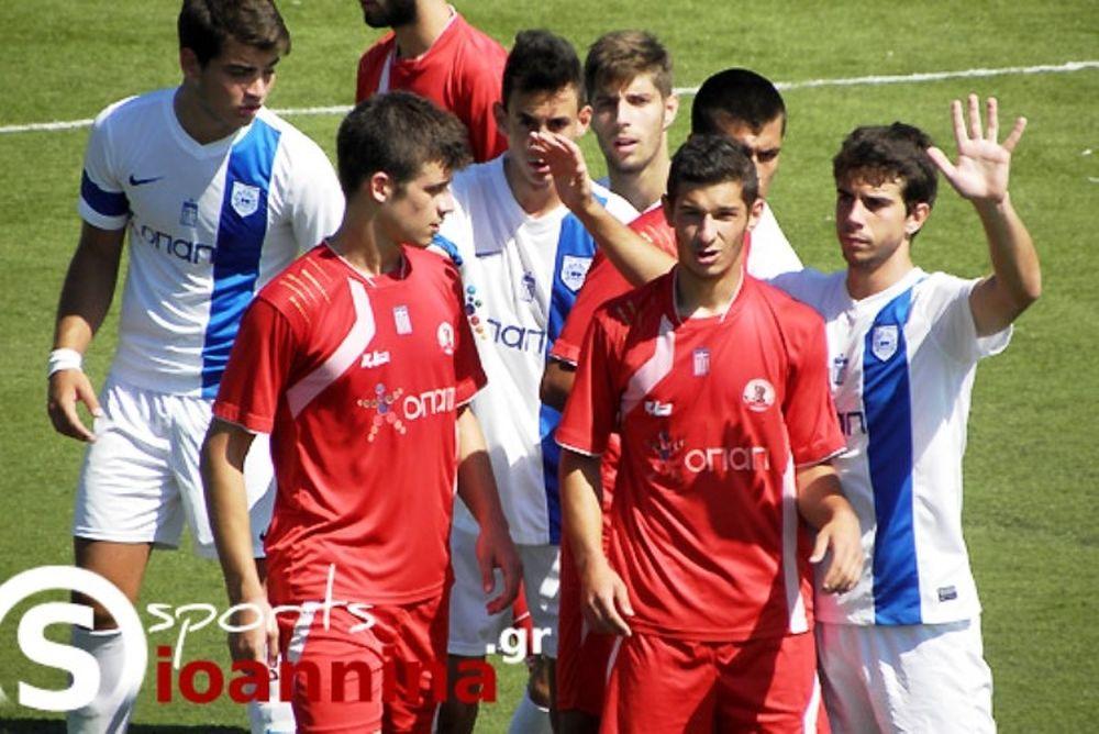ΠΑΣ Γιάννινα-Ξάνθη 0-0 (Κ20)