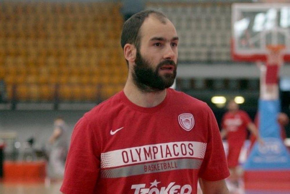 Ολυμπιακός: Στο ΣΕΦ ο Σπανούλης