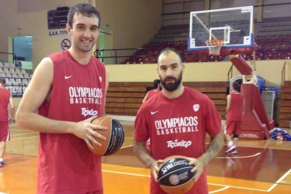 Ολυμπιακός: Μπήκαν Σπανούλης και Μπέγκιτς (photo)