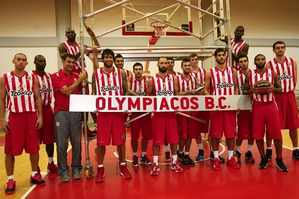 Ολυμπιακός: Πίσω από την κάμερα (video+photos)