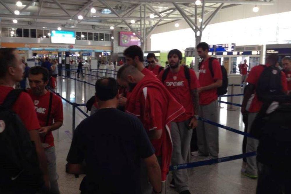 Ολυμπιακός: «Πέταξε» για Σάο Πάολο (photos)