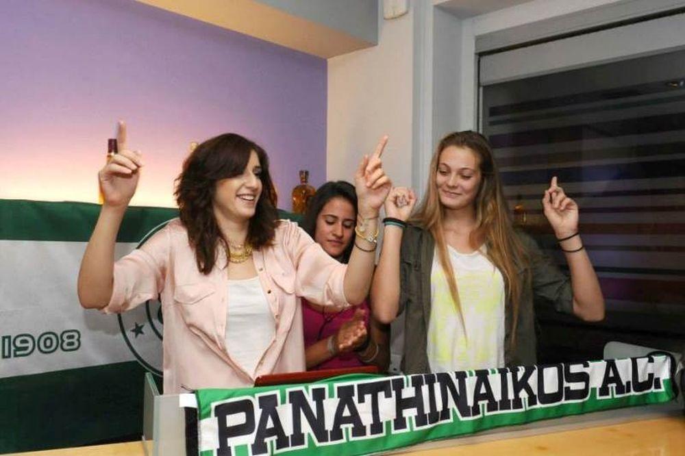 Παναθηναϊκός: «Πρασίνισαν» τα Flocafe (photos)