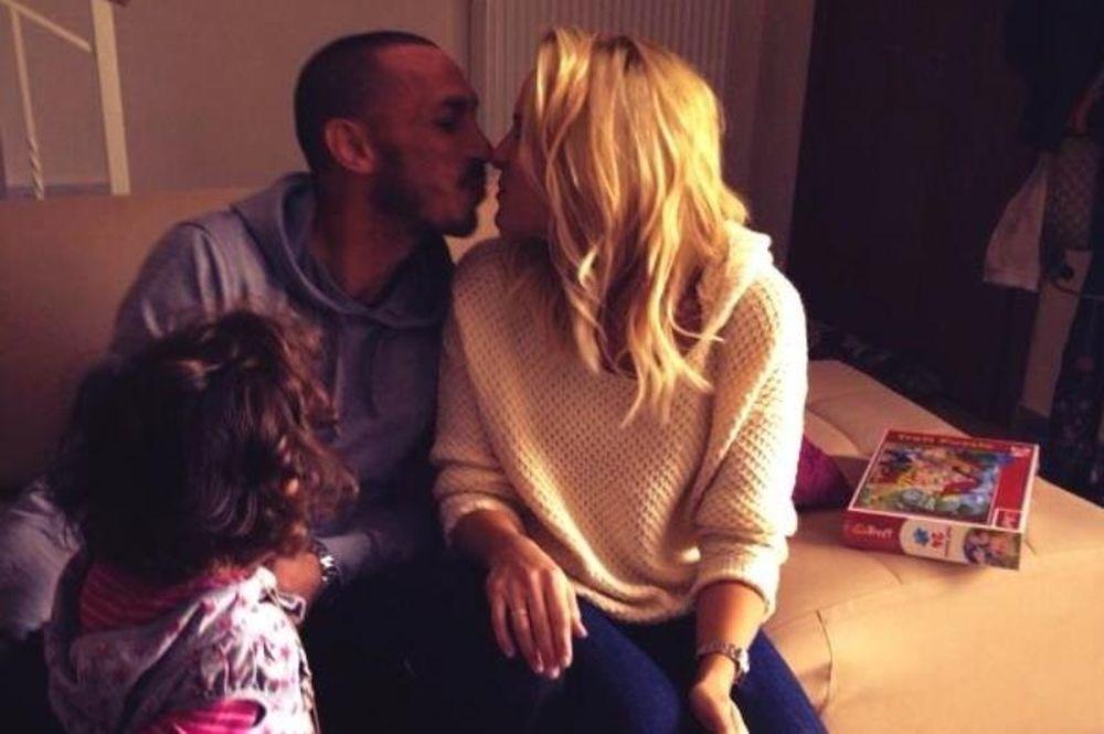 Τσιρίλο: «Ti amo amore mio» (photo