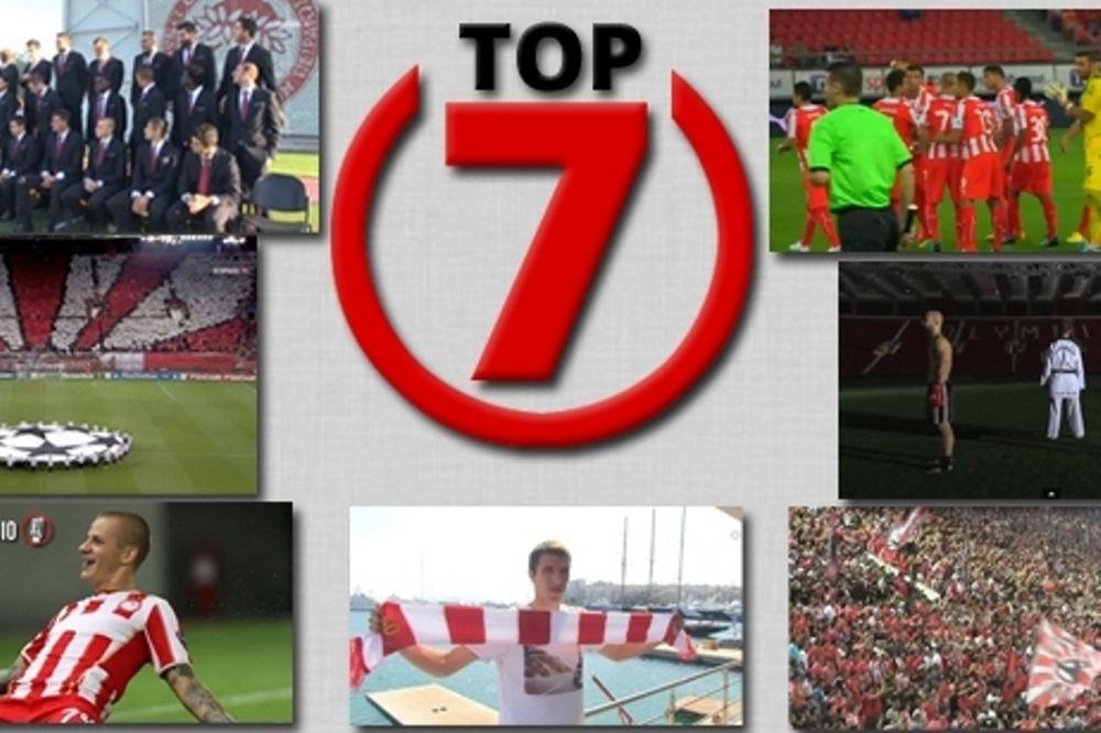Το Top 7 του Ολυμπιακού (videos)