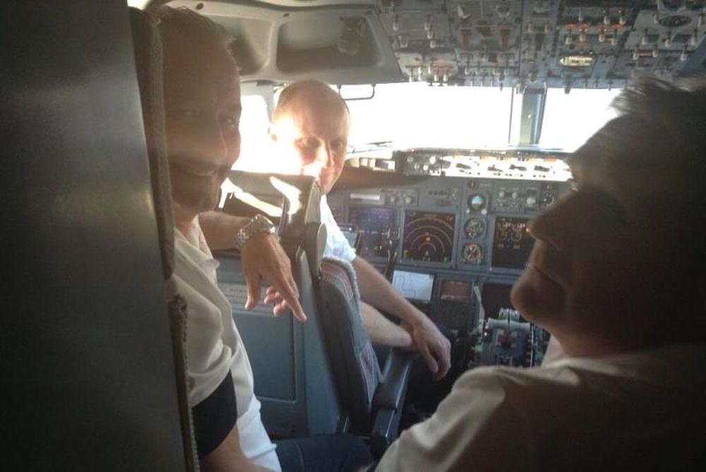 ΠΑΟΚ: Με… πιλότους τους Στέφενς και Λόκχοφ (photo)