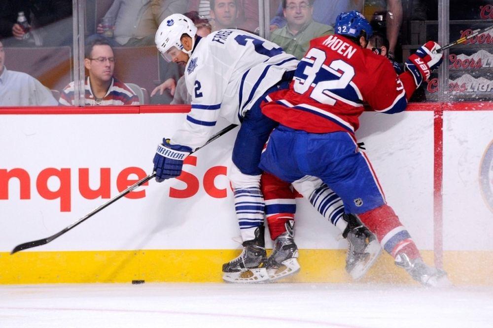 NHL: Ένα μήνα έξω ο Fraser των Λιφς