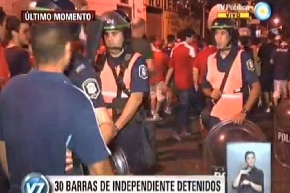 Αργεντινή: Αναβολή αγώνα, όπλα και συλλήψεις (video)