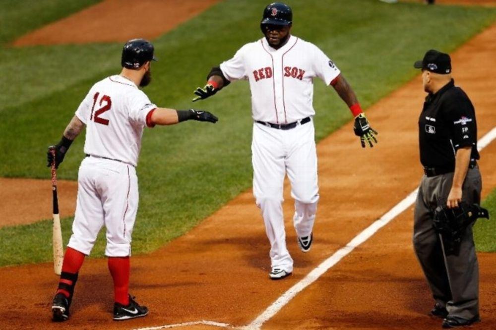 MLB: «Διπλός» Ortiz και 2-0 για Ρεντ Σοξ (videos)