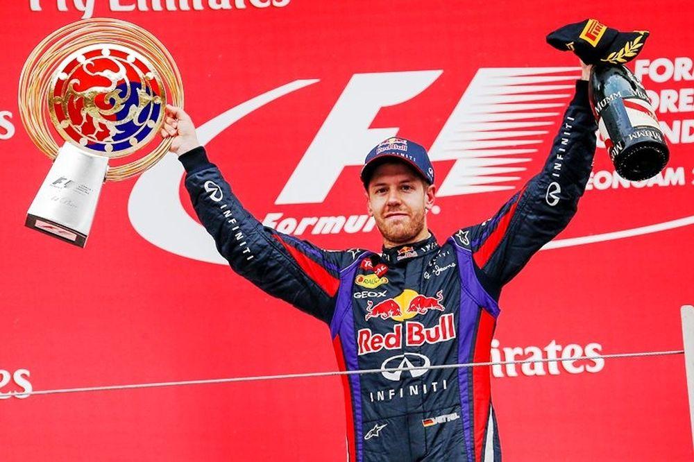Formula 1: Κυρίαρχος και στην Κορέα ο Φέτελ