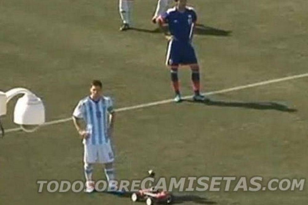 Αργεντινή: Ο Μέσι με την… παγκόσμια εμφάνιση (video)