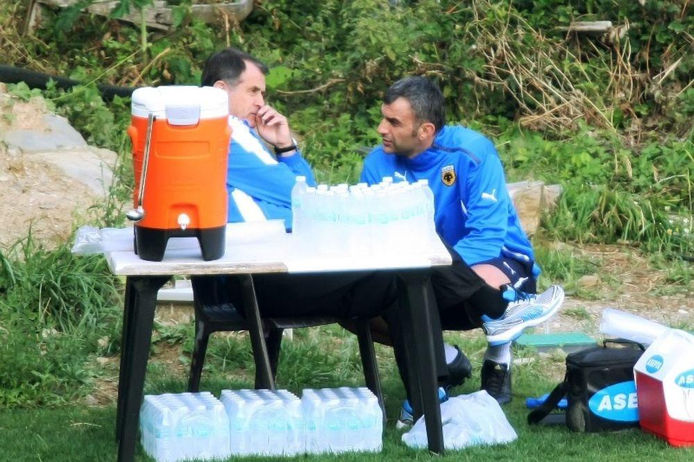 ΑΕΚ: Τα είπαν Δέλλας – Ντούσκο για την εικόνα της ομάδας