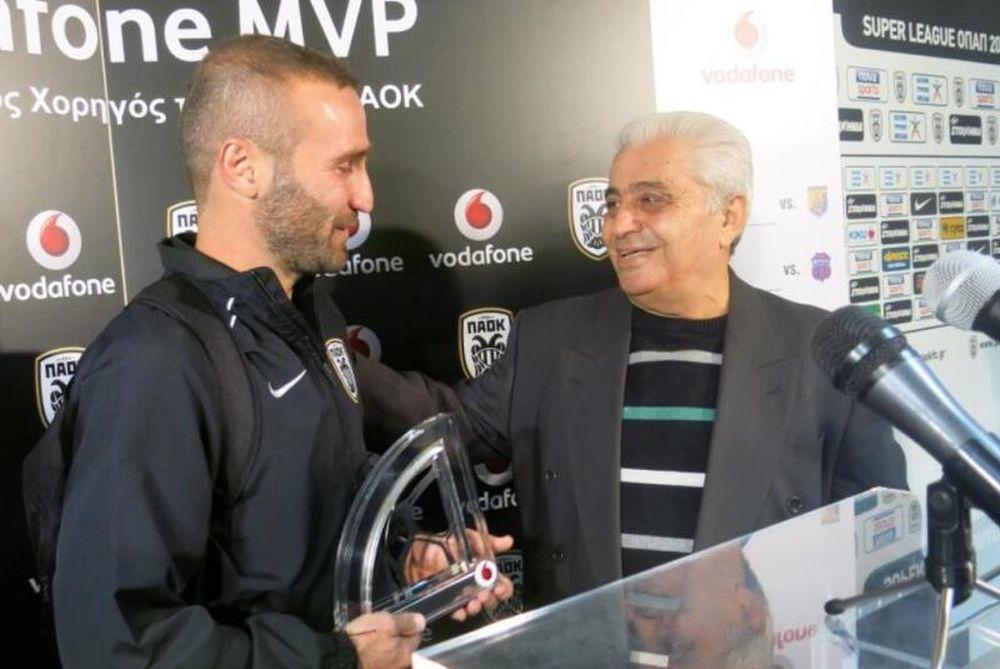 ΠΑΟΚ: MVP ο Σαλπιγγίδης (photos)
