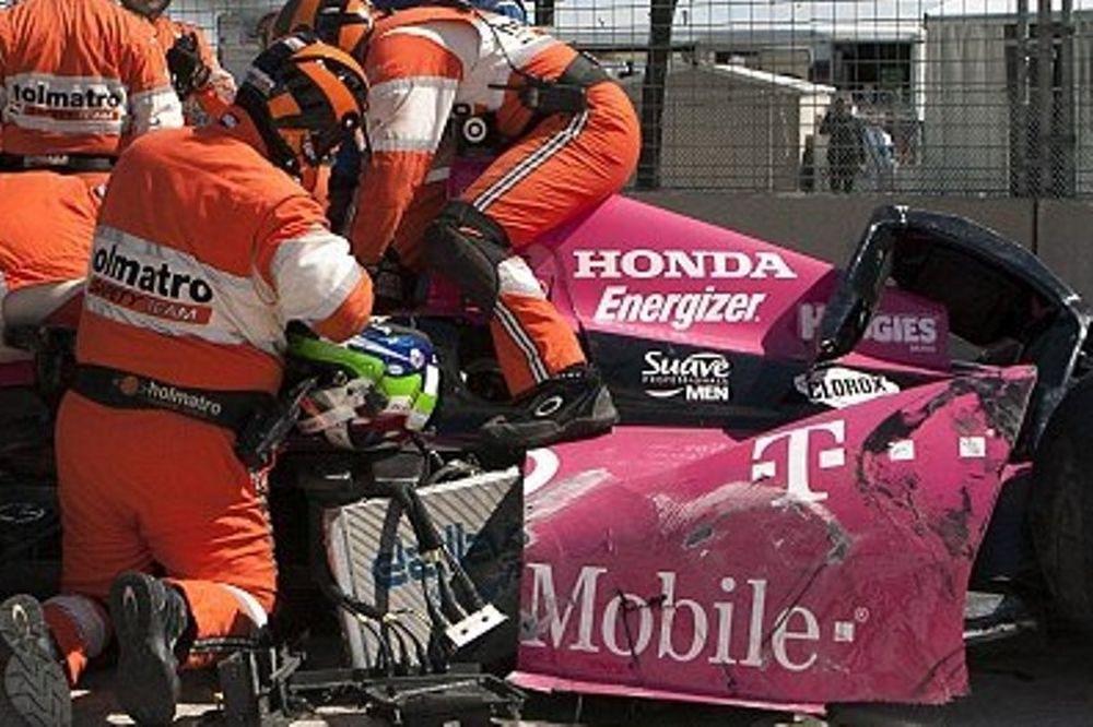 Indy Car: Τρομακτικό ατύχημα στο Χιούστον (photos+video)