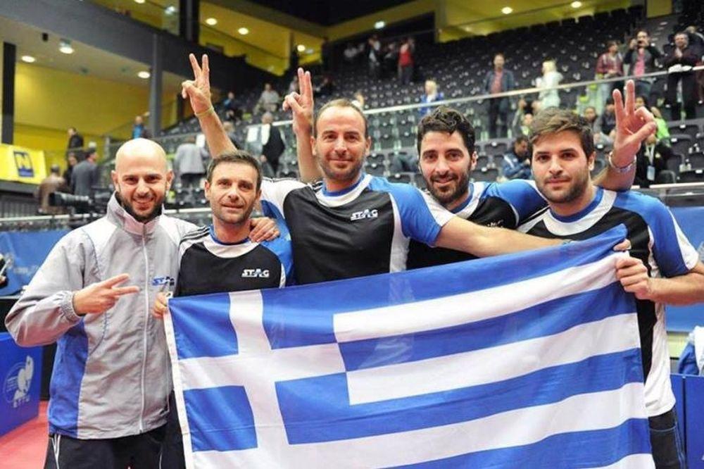 Πινγκ Πονγκ: Μετά τον τελικό στα ατομικά οι Έλληνες