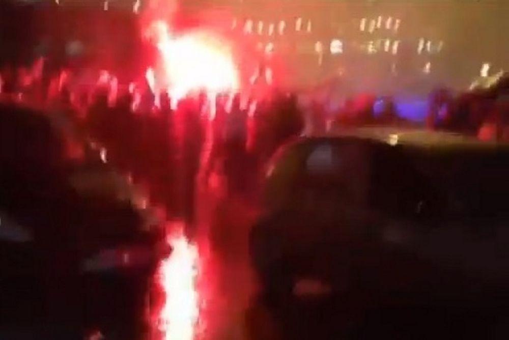 Ρόμα: Απίστευτη υποδοχή από τους οπαδούς (video)