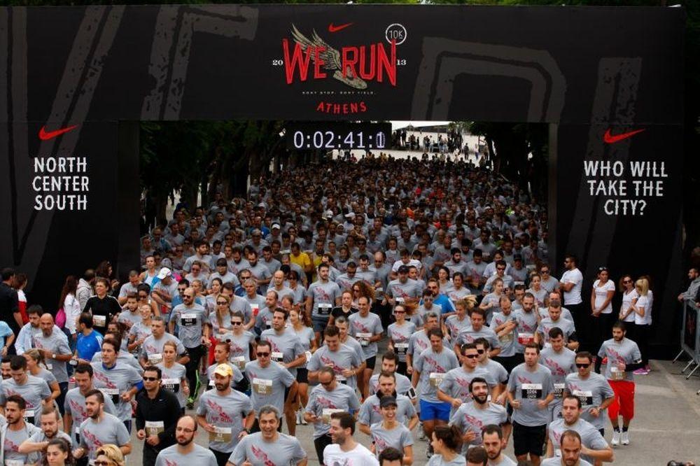 We Run Athens Nike: Περισσότεροι από 4000 δρομείς!