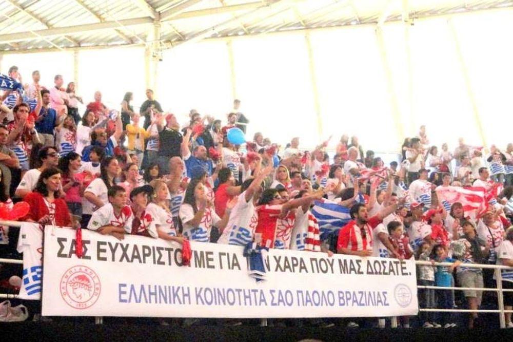 Ολυμπιακός: Συγκλόνισαν οι Έλληνες (video+photos)