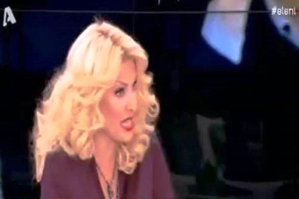Αποκάλεσε on air την Μενεγάκη: «Βρε, γλυκό μου μωρό»!