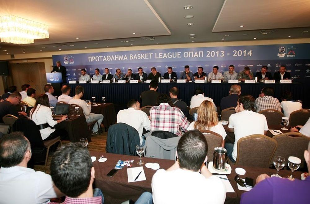 Τα κλικ της συνέντευξης Τύπου των προπονητών (photos)