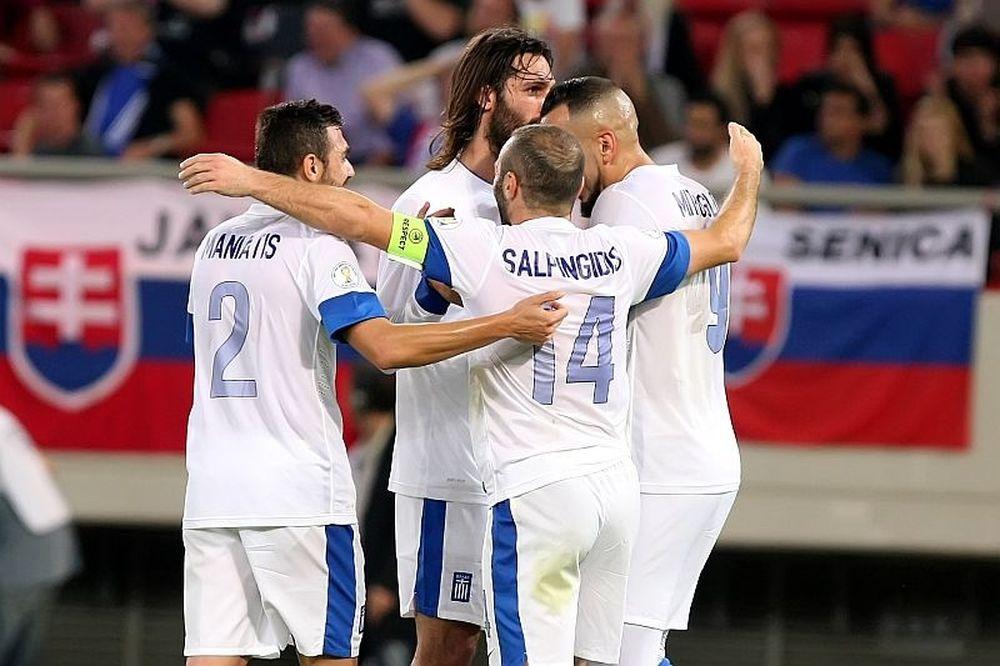 Συν Αθηνά και… Μούτσα κίνει, η Ελλάδα 1-0 τη Σλοβακία (Video+Photos)