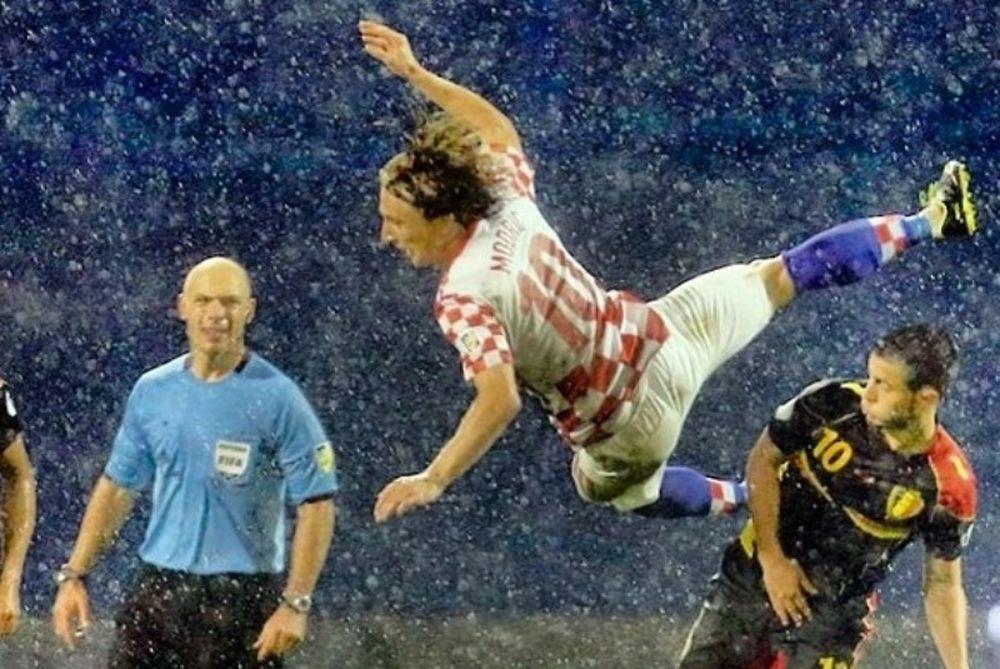 Κροατία: Πετάει ο… Μόντριτς; (photo)