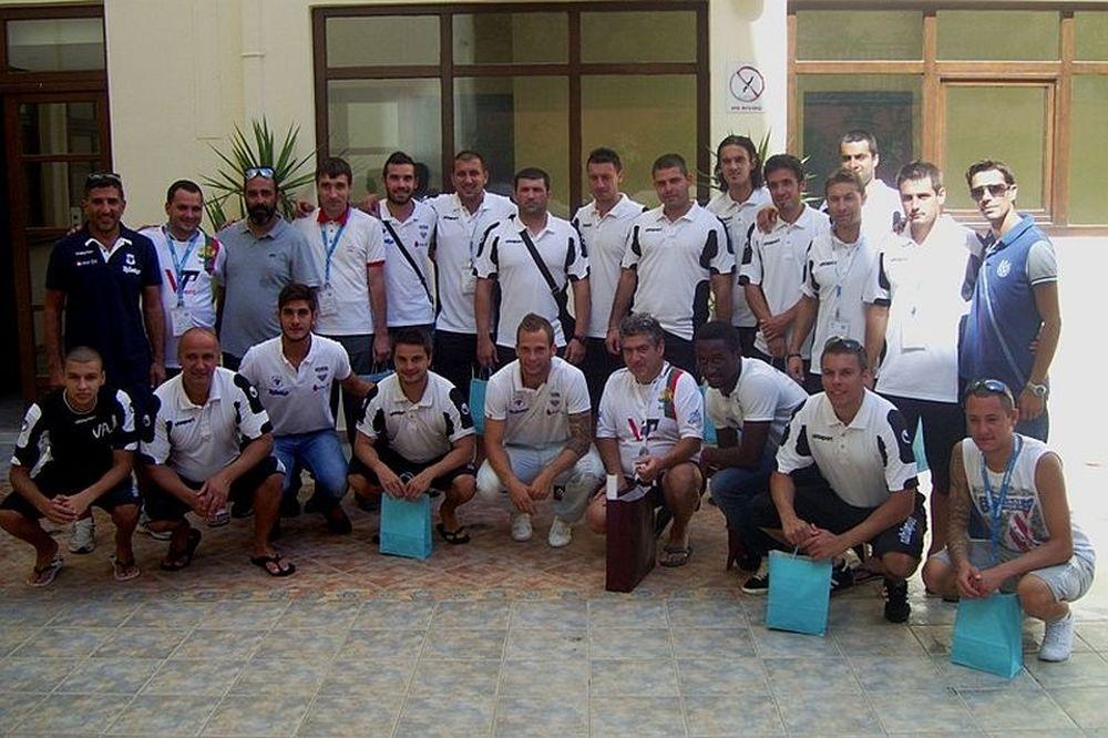 Κοντά στην αδελφοποιημένη ομάδα της Βουλγαρίας (photos)