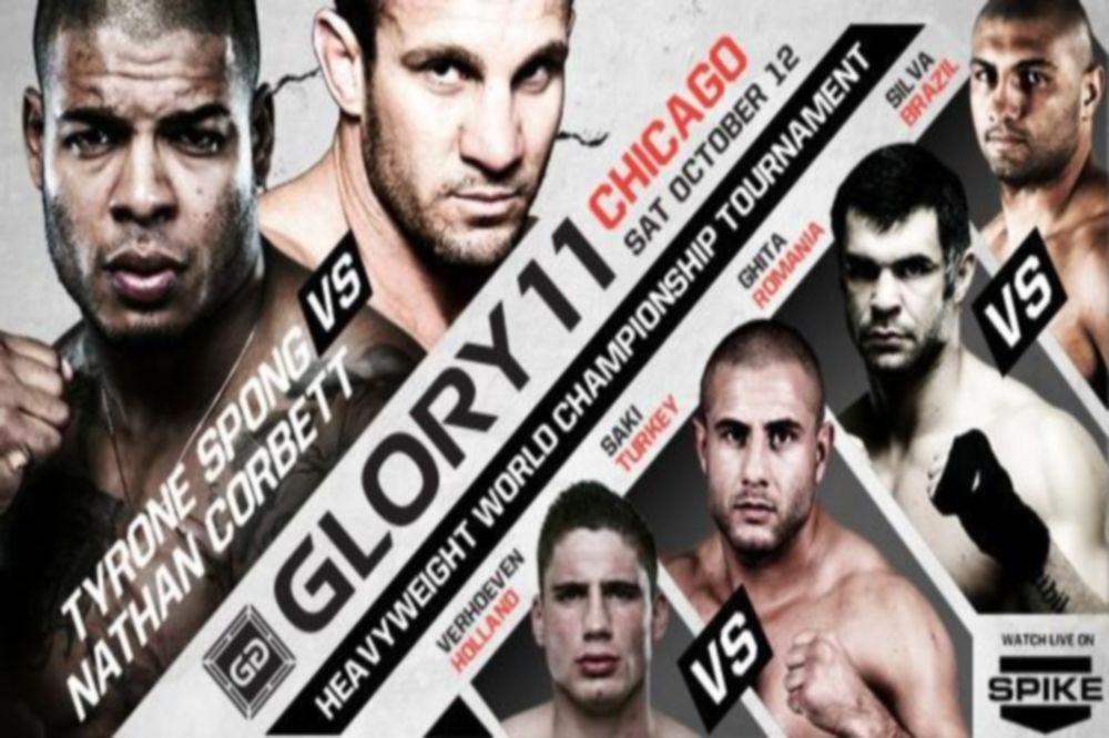 GLORY 11: Πρωταθλητής Heavyweight o Verhoeven (GIFs)