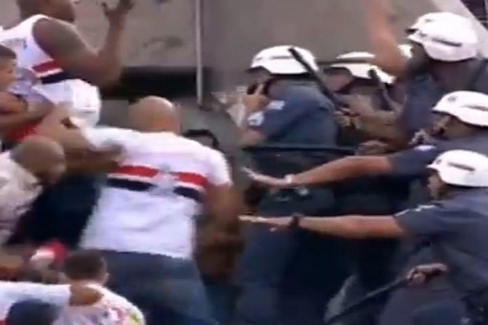 Βραζιλία: «Ξύλο» στο Σάο Πάουλο - Κορίνθιανς (video)